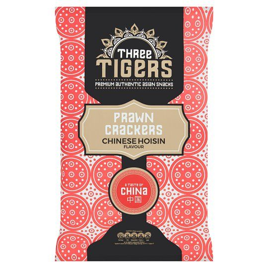 Three Tigers Chinese Hoisin Prawn Crackers 60g