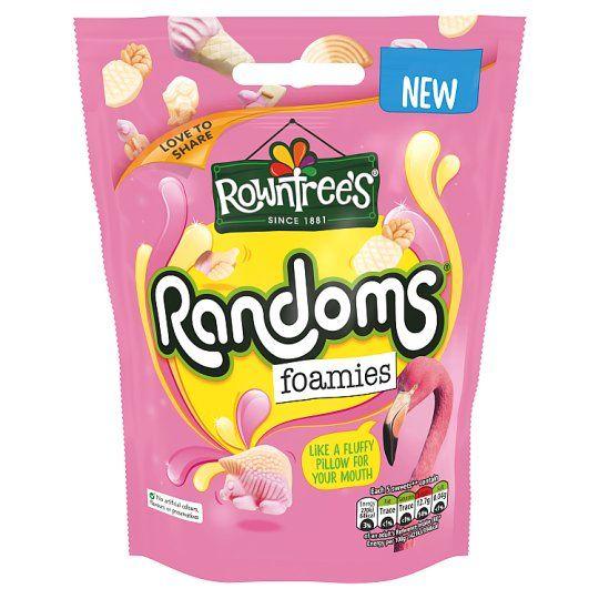 Rowntrees Random Foamies Pouch 140g