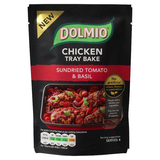 Dolmio Chicken Tray Bake Sun Dried Tomato and Basil 150g