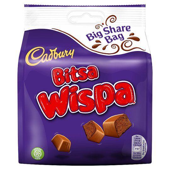 Cadbury Bag Bitsa Wispa Bag 222g