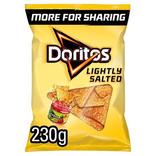 Doritos Lightly Salted Tortilla Chips 230g