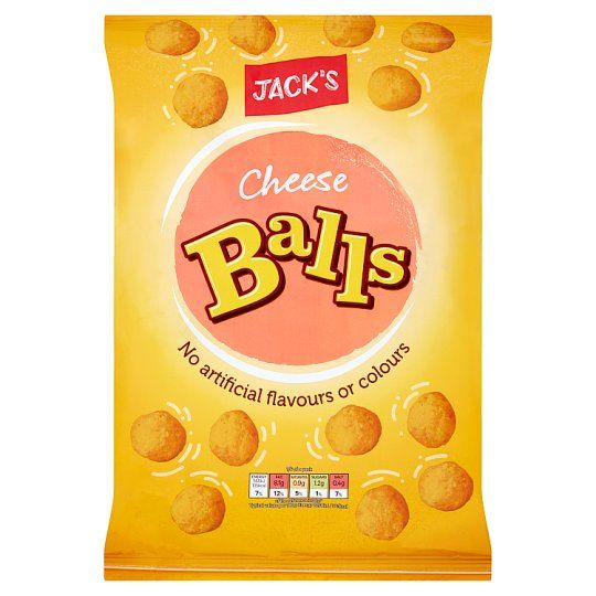 Jack's Cheese Balls Snacks 150g