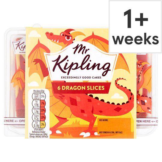 Mr Kipling Dragon Slice X6