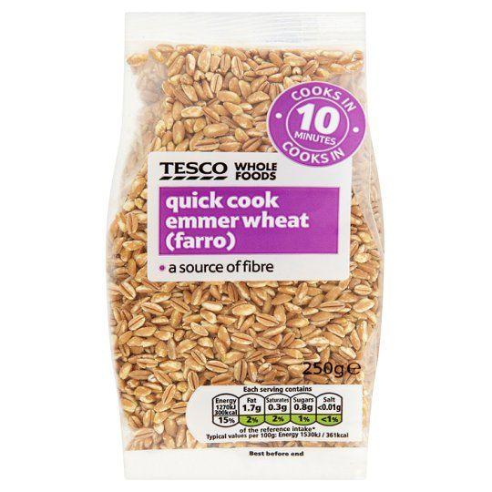 Tesco Quick Cook Emmer Wheat 250g