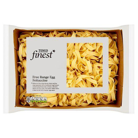 Tesco Finest Egg Fettuccine Pasta 250g