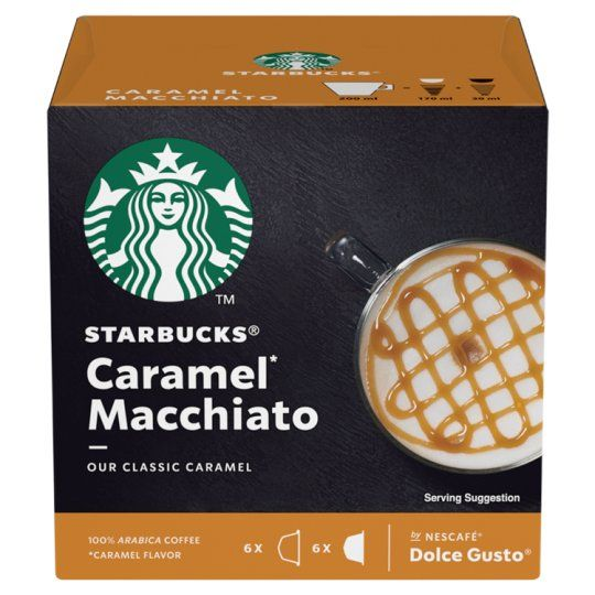 Nescafe Dolce Gusto Starbucks Caramel Macchiato 12Cap 127.8g