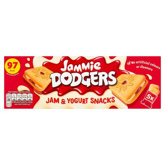 Jammie Dodgers Jam & Yogurt Bar 107g