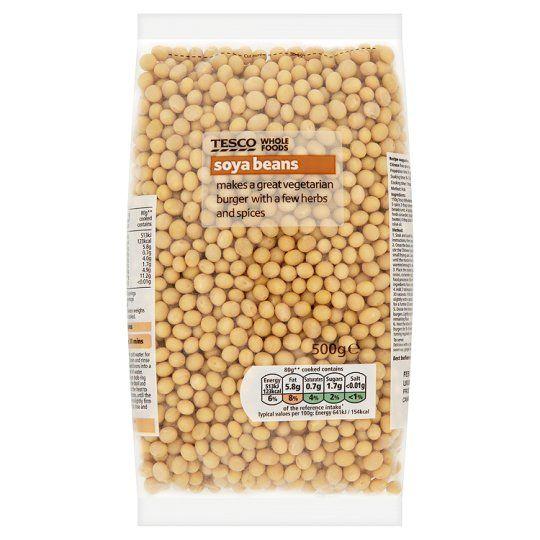 Tesco Wholefoods Soya Beans 500g