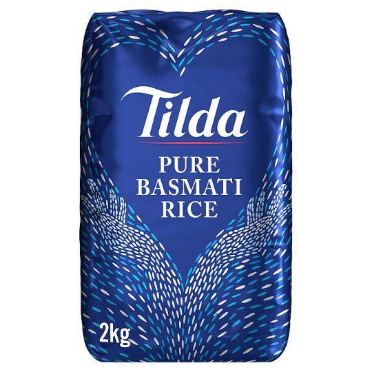 Tilda Pure Basmati Rice 2kg