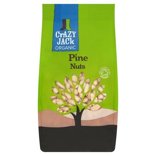 Crazy Jack Organic Pine Nuts 100g