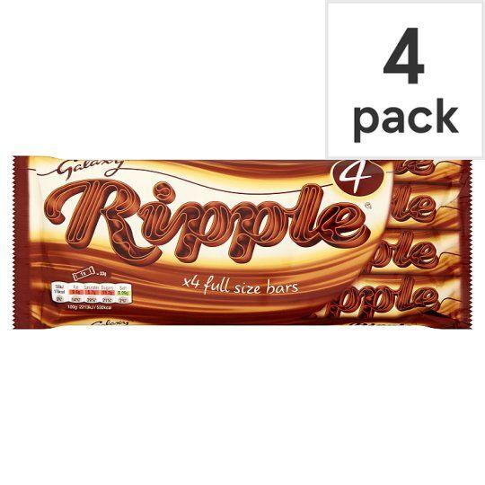 Galaxy Ripple Chocolate Multipack 4 X33g