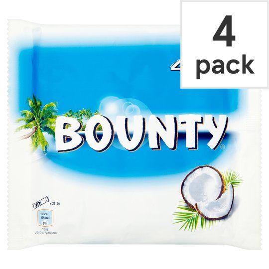 Bounty Chocolate Multipack 4 X28.5g