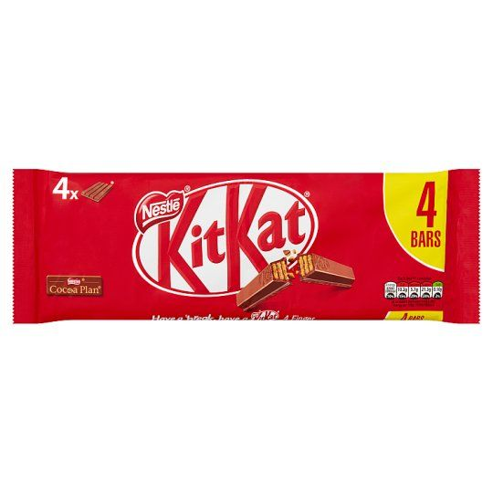Kit Kat 4 Finger Milk Chocolate Multipack 4 X41.5g
