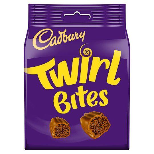 Cadbury Twirl Bites Chocolate Bag 109g