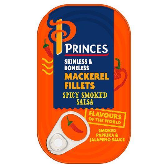 Princes Mackerel Spicy Smoked Salsa 125g