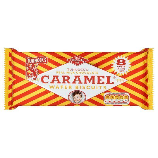 Tunnocks Milk Chocolate Caramel Wafer 240g
