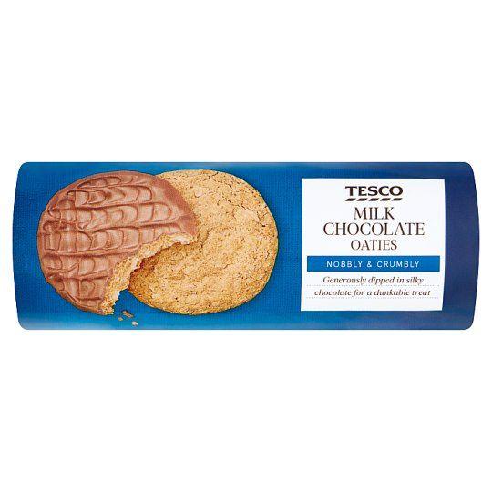Tesco Chocolate Oaties Biscuits 300g