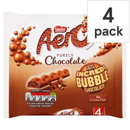 Aero Milk Chocolate Multipack 4 X27g
