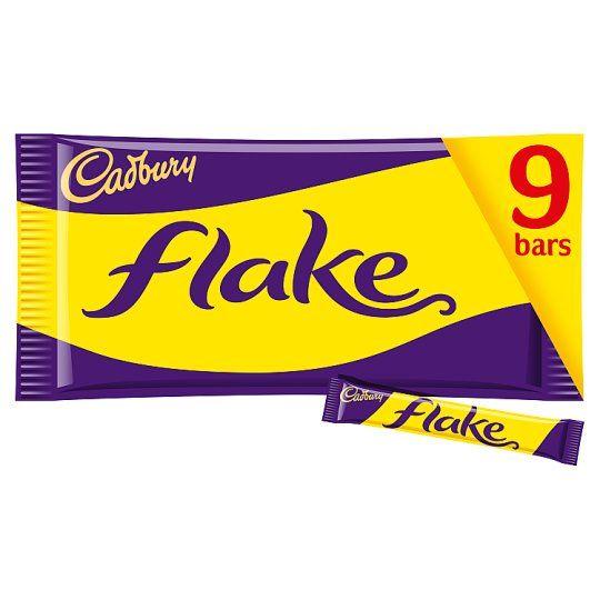 Cadbury Flake Chocolate Multipack 9 X20g