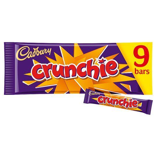 Cadbury Crunchie Chocolate Multipack 9 X26.1g