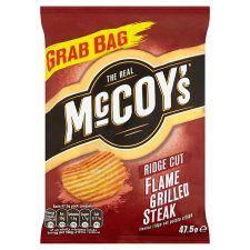 Mccoy's Flame Grilled Steak Crisps 47.5g