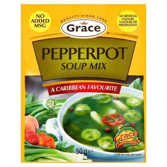 Grace Pepperpot Soup Mix 50g