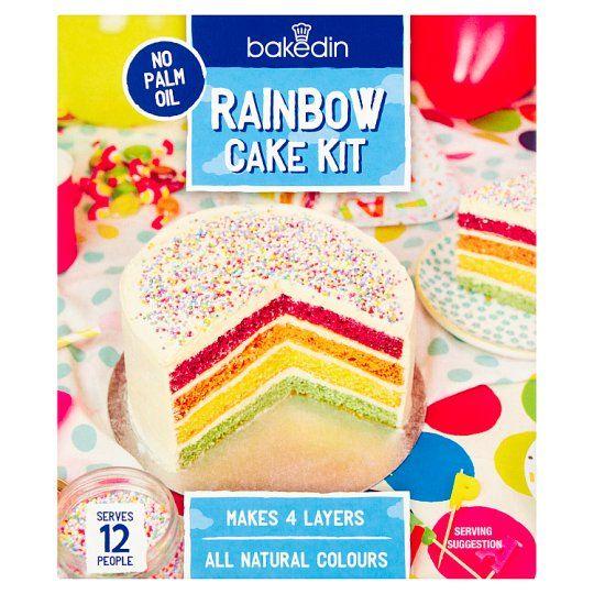 Bakedin Rainbow Cake Mix 490g