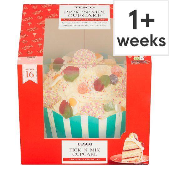 Tesco Pick & Mix Cupcake