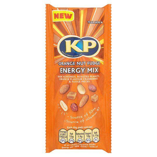 Kp Nuts Orange and Fudge Nut Mix 40g