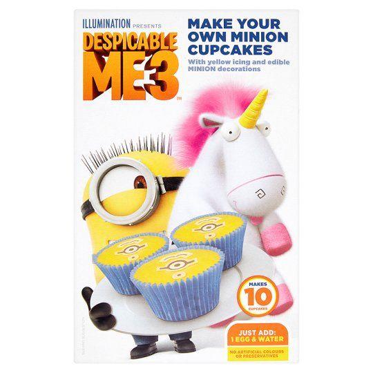 Despicable Me Cupcake Mix 193g