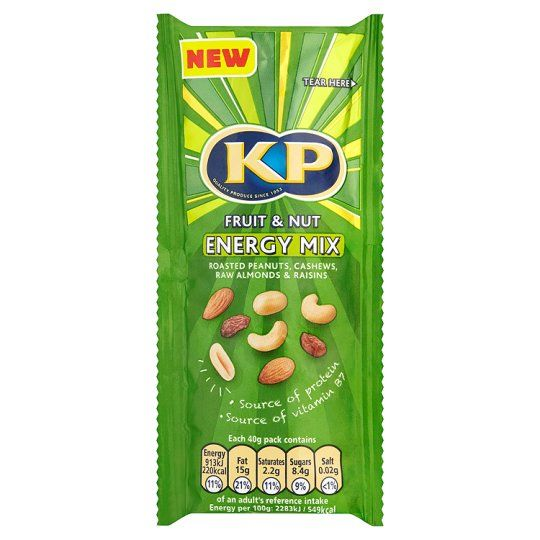 Kp Fruit and Nut Energy Mix 40g