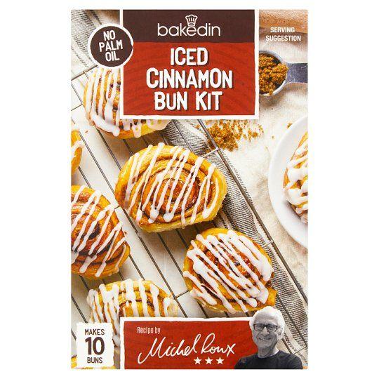 Bakedin Cinnamon Bun Mix 350g