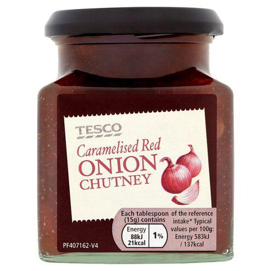 Tesco Caramelised Onion Chutney 280g