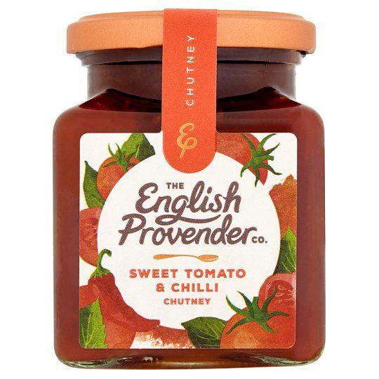 English Provender Sweet Tomato &Chilli Chutney 325g