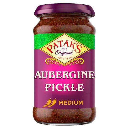 Pataks Aubergine Pickles 312g