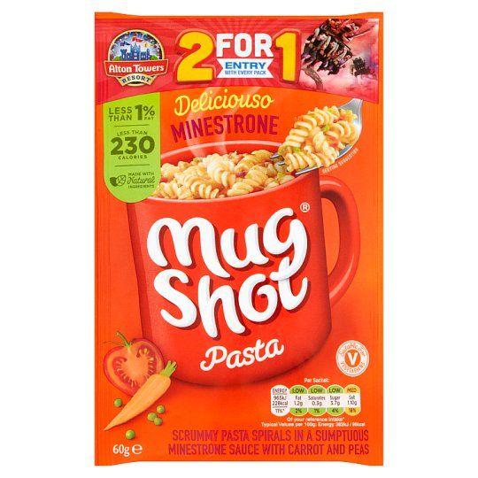 Mugshot Minestrone Pasta 60g