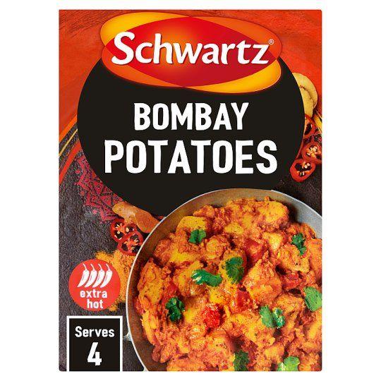 Schwartz Authentic Bombay Potatos Potatoes 33g