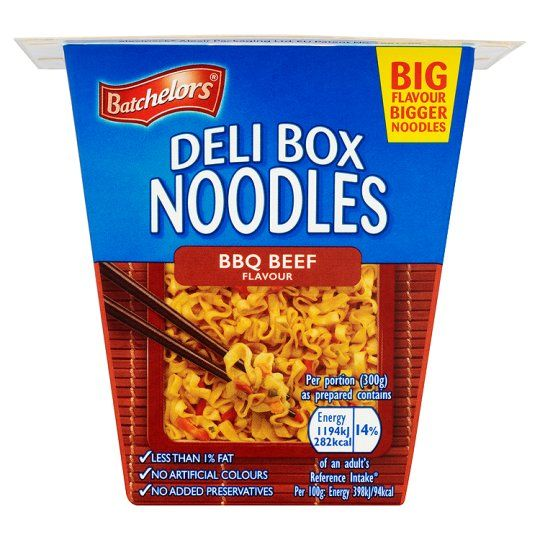 Batchelors Deli Box BBQ Beef Noodles 80g