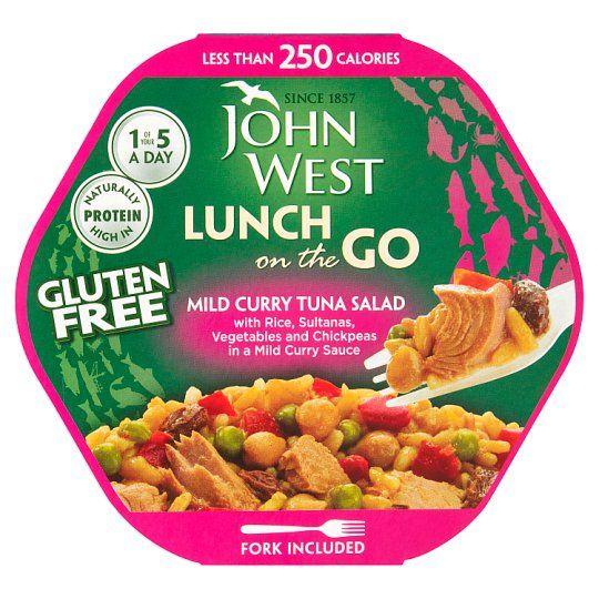 John West Light Lunch Mild Curry Tuna Salad 220g