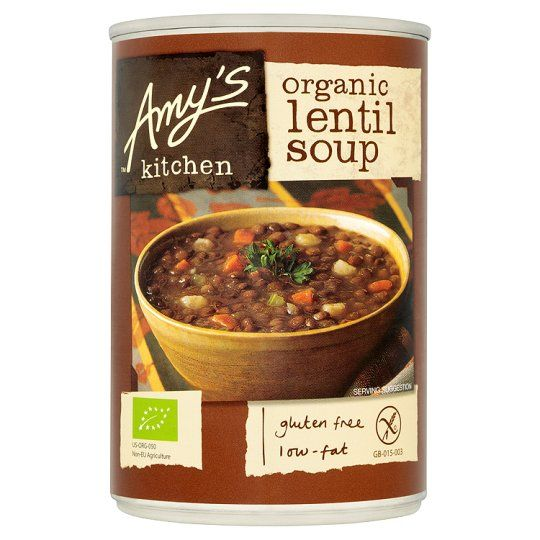 Amy's Kitchen Gluten Free Lentil Soup 400g