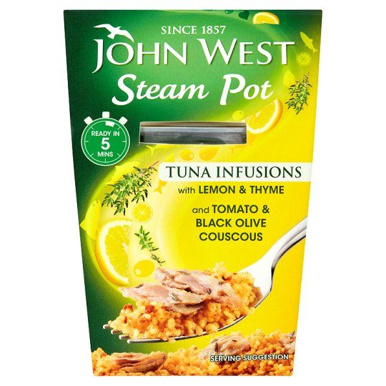 John West Steam Pot Tuna Infusions Lemon and Thyme 150g