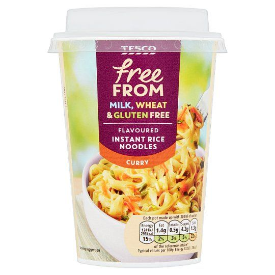 Tesco Free From Curry Noodle Pot 74g