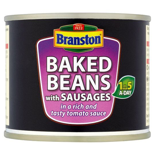 Branston Baked Beans With Sausages In Tomato Sauce 220g
