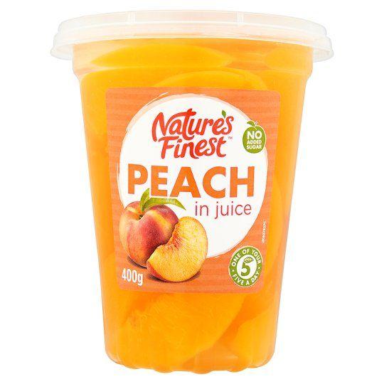 Nature's Finest Peach In Juice 400g