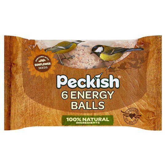 Peckish 6 Energy Balls 6X80g