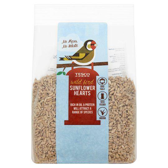 Tesco Bird Food Sunflower Hearts 700g