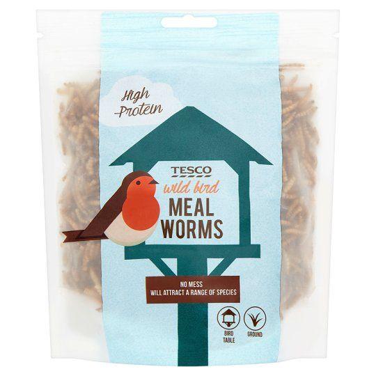 Tesco Bird Food Meal Worm 100g