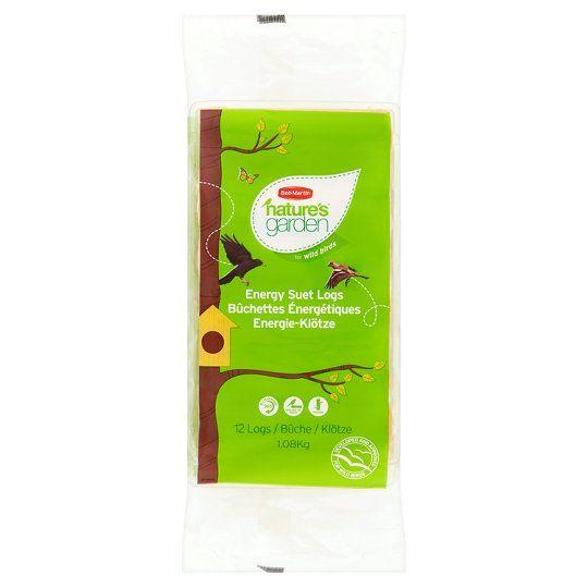 Natures Garden Energy Suet Logs 12 Pack