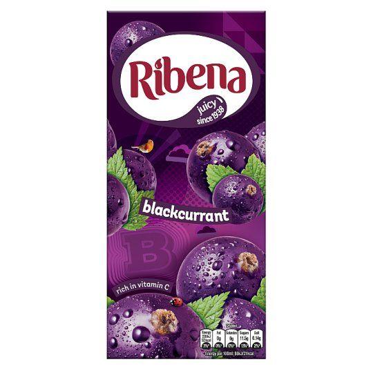 Ribena Ready To Drink Blackcurrant 1 Litre