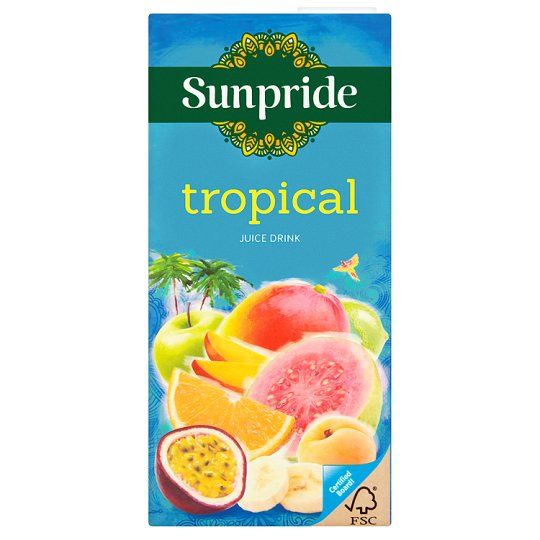 Sunpride Tropical Juice Drink 1 Litre